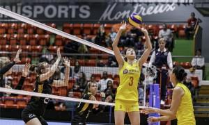 李盈莹18分中国女排3-2德国 瑞士赛小组赛夺首胜