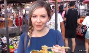 原创 法国美女来中国旅游,对这一幕表示很不解:难道你们晚上都不开灯